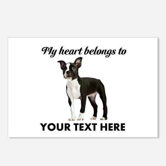Personalized Boston Terri Postcards (Package of 8)