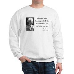 Mark Twain 31 Sweatshirt