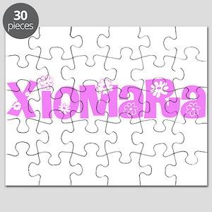 Xiomara Flower Design Puzzle