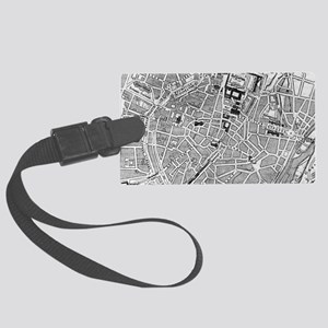 Vintage Map of Munich Germany (1 Large Luggage Tag