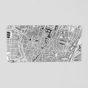 Vintage Map of Munich Germa Aluminum License Plate