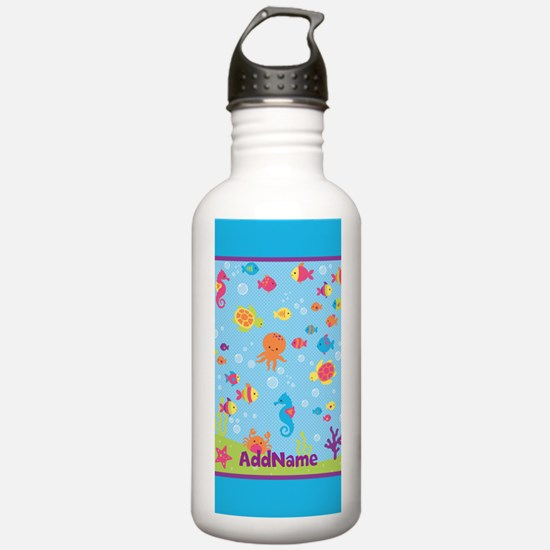 Under the Sea Creature Water Bottle