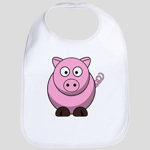 Chubby pink pig Bib
