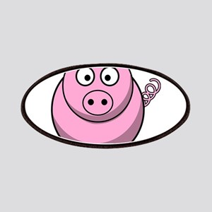 Chubby pink pig Patch