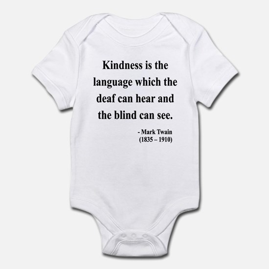 Mark Twain 31 Infant Bodysuit