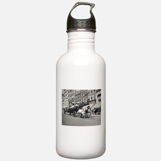 Vintage Horse Drawn Fi Water Bottle