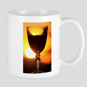 Red Wine and a Sunset Mugs