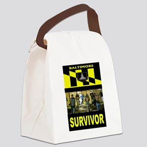 SURVIVOR Canvas Lunch Bag