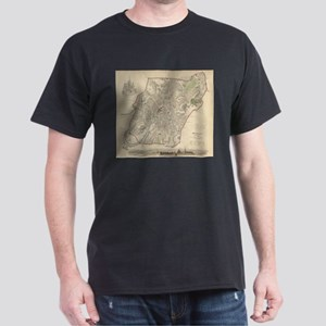 Vintage Map of Moscow (1836) T-Shirt