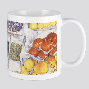 Fruit Stand by Gustave Caillebotte Mugs