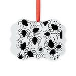 Black Spiders Ornament