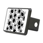 Black Spiders Hitch Cover