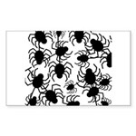 Black Spiders Sticker