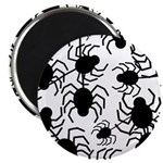 Black Spiders Magnets
