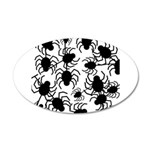 Black Spiders Wall Decal
