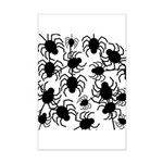 Black Spiders Posters