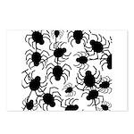 Black Spiders Postcards (Package of 8)