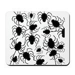 Black Spiders Mousepad