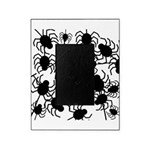 Black Spiders Picture Frame