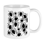 Black Spiders Mugs