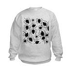 Black Spiders Sweatshirt