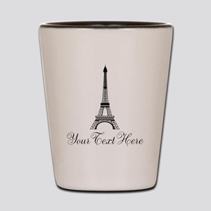 Personalizable Eiffel Tower Shot Glass