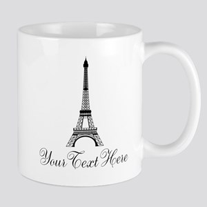 Personalizable Eiffel Tower Mugs