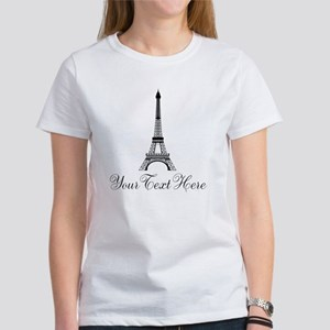 Personalizable Eiffel Tower T-Shirt