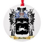 MacAdo Round Ornament