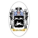 MacAdo Sticker (Oval 50 pk)
