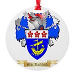 Mac Daibheid Round Ornament