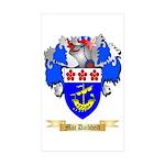 Mac Daibheid Sticker (Rectangle 10 pk)