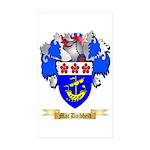 Mac Daibheid Sticker (Rectangle 50 pk)
