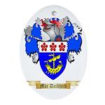 Mac Daibheid Ornament (Oval)