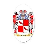 Mabley Oval Car Magnet
