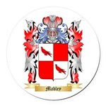 Mabley Round Car Magnet