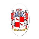 Mabley 35x21 Oval Wall Decal