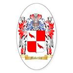 Maberley Sticker (Oval 10 pk)