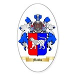 Mabbs Sticker (Oval 50 pk)