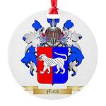 Mabb Round Ornament