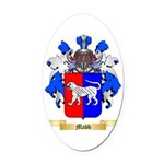 Mabb Oval Car Magnet