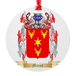 Maass Round Ornament