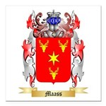 Maass Square Car Magnet 3
