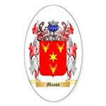 Maass Sticker (Oval 10 pk)
