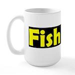 fish moli Large Mug