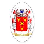 Maas Sticker (Oval)