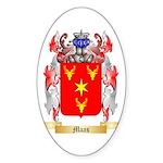 Maas Sticker (Oval 50 pk)
