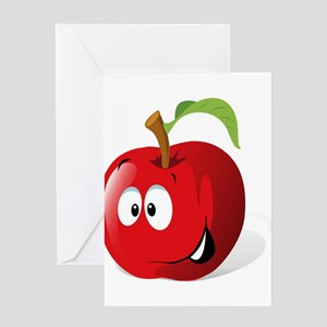 Johnny appleseed greeting cards cafepress apple greeting cards m4hsunfo