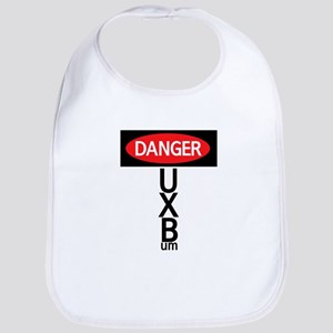 Danger sign Bib