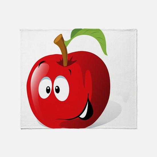 Apple Throw Blanket